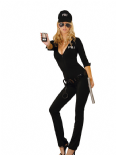 Elegant Moments Costume da Sexy Agente FBI 7pz | EM9666
